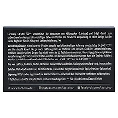 LACTOJOY 14.500 FCC Tabletten 45 Stück - Rückseite