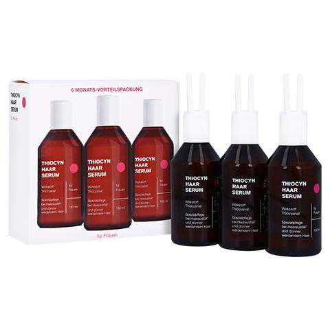 Thiocyn Haarserum Frauen 6 Monats-Vorteilspackung 3x150 Milliliter