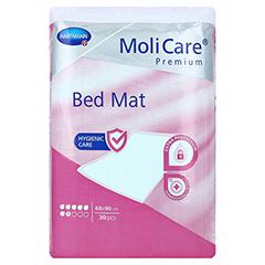 MOLICARE Premium Bed Mat 7 Tropfen 60x90 cm 4x30 Stück - Vorderseite