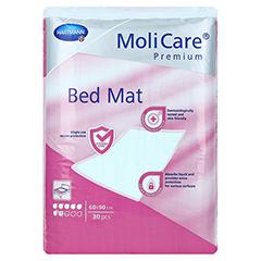 MOLICARE Premium Bed Mat 7 Tropfen 60x90 cm 4x30 Stück - Rückseite