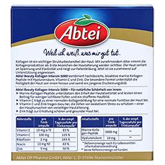 ABTEI Beauty Kollagen Intensiv 5000 Trinkampullen 10x25 Milliliter - Rückseite