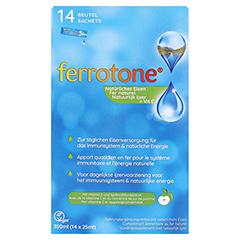 FERROTONE Eisen mit Apfelkonzentrat & Vitamin C 14x25 Milliliter - Vorderseite