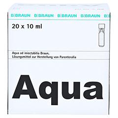 AQUA AD injectabilia Miniplasco connect Inj.-Lsg. 20x10 Milliliter N3 - Vorderseite