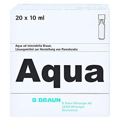 AQUA AD injectabilia Miniplasco connect Inj.-Lsg. 20x10 Milliliter N3 - Oberseite