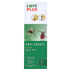 CARE PLUS Deet Anti Insect Spray 40% 100 Milliliter - Vorderseite