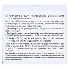 ANNEMARIE BÖRLIND Pura Soft Q10 Anti Falten Creme 50 Milliliter - Rückseite