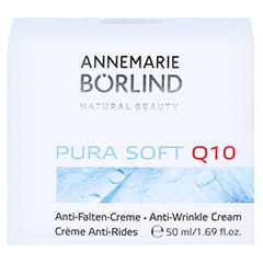 ANNEMARIE BÖRLIND Pura Soft Q10 Anti Falten Creme 50 Milliliter - Vorderseite
