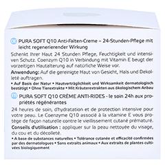 ANNEMARIE BÖRLIND Pura Soft Q10 Anti Falten Creme 50 Milliliter - Rechte Seite