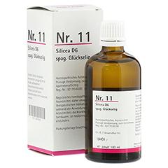 NR.11 Silicea D 6 spag.Glückselig 100 Milliliter N2