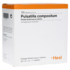 PULSATILLA COMPOSITUM Ampullen 100 Stück