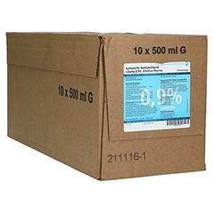 KOCHSALZLÖSUNG 0,9% Glasfl. 10x500 Milliliter N2