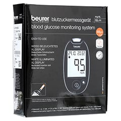 Beurer GL44 Blutzuckermessgerät mg/dl 1 Stück