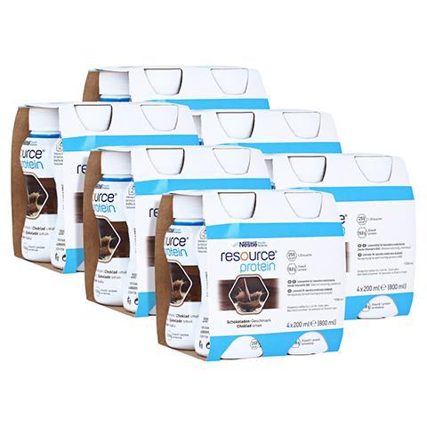 RESOURCE Protein Schokolade neue Rezeptur 6x4x200 Milliliter