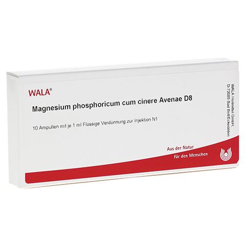 MAGNESIUM PHOSPHORICUM CUM cinere Avenae D 8 Amp. 10x1 Milliliter N1