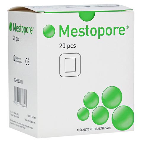 MESTOPORE Stomaverband 665000 20 Stück