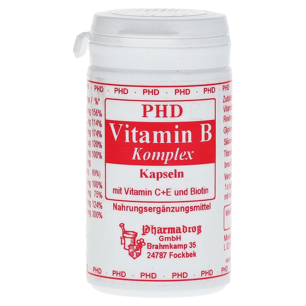 vitamin b komplex m vitamin c e und biotin kapseln 60 st ck online bestellen medpex. Black Bedroom Furniture Sets. Home Design Ideas