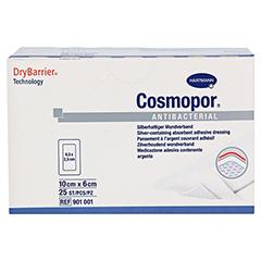 COSMOPOR Antibacterial 6x10 cm 25 Stück - Vorderseite