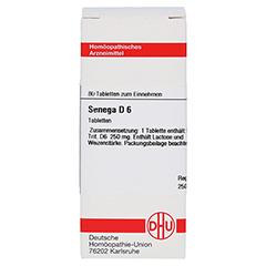 SENEGA D 6 Tabletten 80 Stück N1 - Vorderseite