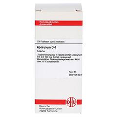 APOCYNUM D 4 Tabletten 200 Stück N2 - Vorderseite