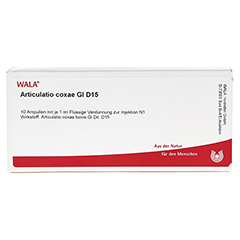 ARTICULATIO coxae GL D 15 Ampullen 10x1 Milliliter N1 - Vorderseite
