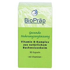 VITAMIN B KOMPLEX natürliche Kapseln 90 Stück - Vorderseite