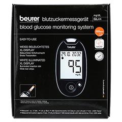 Beurer GL44 Blutzuckermessgerät mg/dl 1 Stück - Vorderseite
