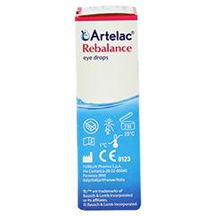 ARTELAC Rebalance Augentropfen 10 Milliliter - Linke Seite