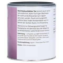 H&S Himbeerblätter loser Tee 70 Gramm - Linke Seite
