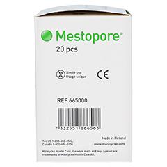 MESTOPORE Stomaverband 665000 20 Stück - Linke Seite