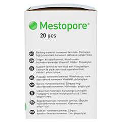 MESTOPORE Stomaverband 665000 20 Stück - Rechte Seite