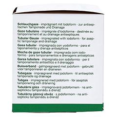 OPRACLEAN Schlauchgaze m.Jodoform 8 cmx5 m 1 Stück - Rechte Seite
