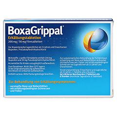 BoxaGrippal Erkältungstabletten 200mg/30mg 20 Stück N1 - Rückseite