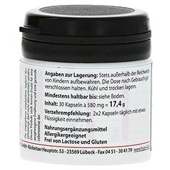 HYPO A Magnesium Calcium Kapseln 30 Stück - Rückseite
