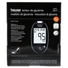 Beurer GL44 Blutzuckermessgerät mg/dl 1 Stück - Rückseite