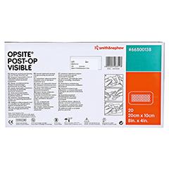 OPSITE Post-OP Visible 10x20 cm Verband 20 Stück - Rückseite