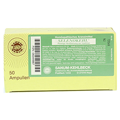 SELENOKEHL Injektion Ampullen 50x2 Milliliter N2 - Oberseite
