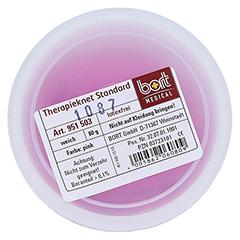 BORT Therapie Knet Standard weich pink 80 Gramm - Oberseite
