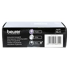 Beurer GL44 Blutzuckermessgerät mg/dl 1 Stück - Oberseite