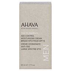 AHAVA Men's Age Control Moisturizing Cream Broad Spectrum SPF15 50 Milliliter - Vorderseite
