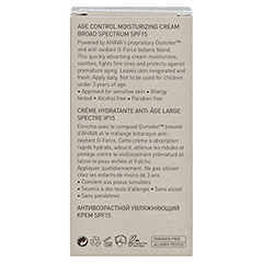 AHAVA Men's Age Control Moisturizing Cream Broad Spectrum SPF15 50 Milliliter - Rückseite