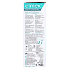 ELMEX SENSITIVE PROFESSIONAL Zahnspülung 400 Milliliter - Rechte Seite