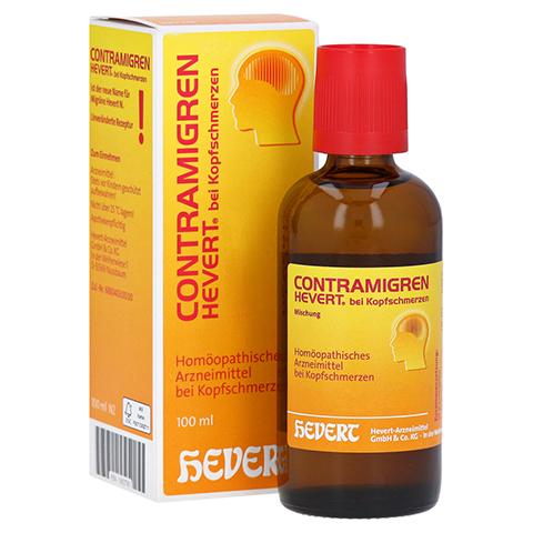 CONTRAMIGREN Hevert bei Kopfschmerzen Mischung 100 Milliliter N2