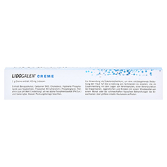 LIDOGALEN 40 mg/g Creme 30 Gramm - Oberseite
