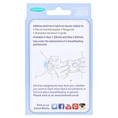 LANSINOH Stillhütchen 20 mm 2 Stück - Rückseite