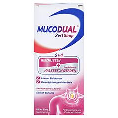 Mucodual 2in1 Sirup 100 Milliliter - Vorderseite
