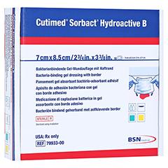 CUTIMED Sorbact Hydroactive B Gel-V.7x8,5 cm haft. 10 Stück