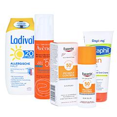 Sonnenschutz nach Hauttyp Themenshop
