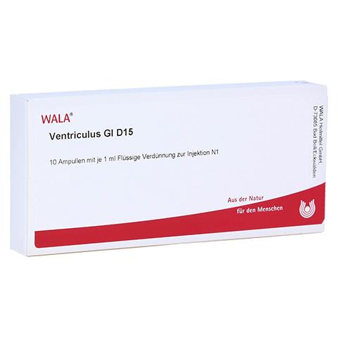 VENTRICULUS GL D 15 Ampullen 10x1 Milliliter N1