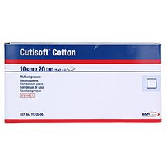 CUTISOFT Cotton Kompr.10x20 cm ster.8fach 25x2 Stück - Vorderseite