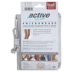 BORT ActiveColor Kniebandage L haut 1 Stück - Rückseite